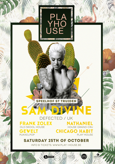 Play'house Sam Divine Defected