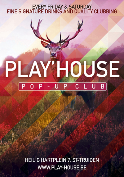 Play'house Pop-up Club St-Truiden