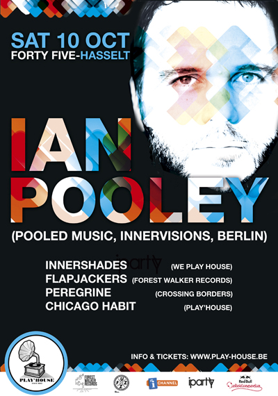 Play'house Ian Pooley Forty Five Hasselt